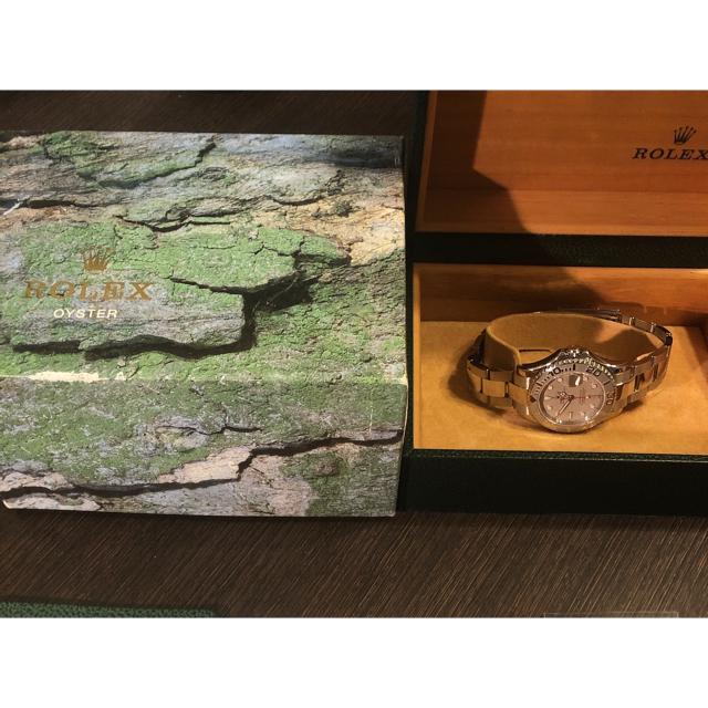 ワインダー 時計 ロレックス / ROLEX - 【未使用・正規品】 ROLEX ヨットマスター ロレジウム 168622 P番の通販 by xhx shop|ロレックスならラクマ
