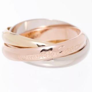 カルティエ(Cartier)のカルティエ トリニティリング3連リング K18 3色ゴールド 49ー55号まで(リング(指輪))