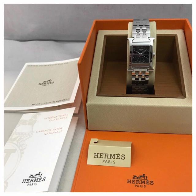 ロレックス 時計 開き方 | Hermes - エルメス Hウォッチの通販 by hiyoshiho's shop|エルメスならラクマ
