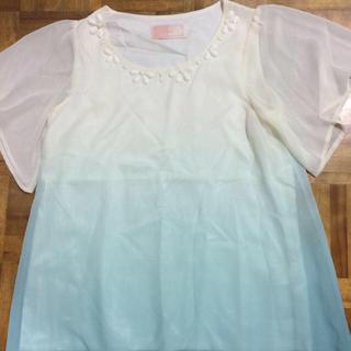 レディー(Rady)のRady☆グラデーションビジュートップ(Tシャツ/カットソー(半袖/袖なし))