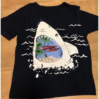 ギャップ(GAP)の美品!ネイビー シャークTシャツ(Tシャツ/カットソー)