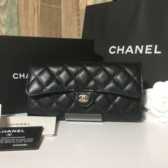 CHANEL財布。新品未使用の通販 by ルヲユ's shop|ラクマ