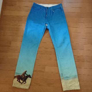 カルバンクライン(Calvin Klein)のCalvin Klein jeans 転写 デニム パンツ(デニム/ジーンズ)
