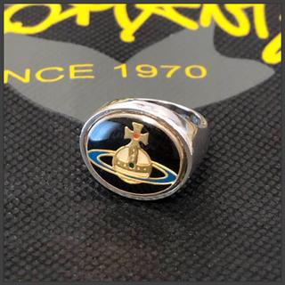 ヴィヴィアンウエストウッド(Vivienne Westwood)のヴィヴィアンウエストウッド  エナメルボタンリング S(リング(指輪))