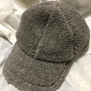 NO5@COM様【新品】ふわもこ ボアキャップ 帽子 キャップ(キャップ)