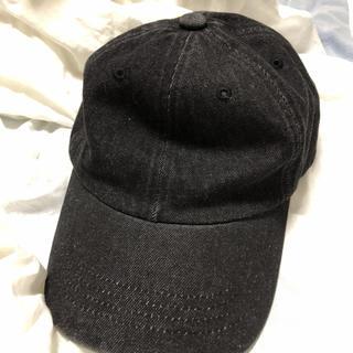 【新品保管品】デニムローキャップ 帽子 キャップ(キャップ)