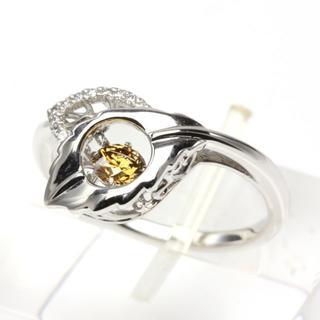 LUCCIOLA ブラウンダイヤリング ルシオラ 夏樹陽子 ダンシング(リング(指輪))