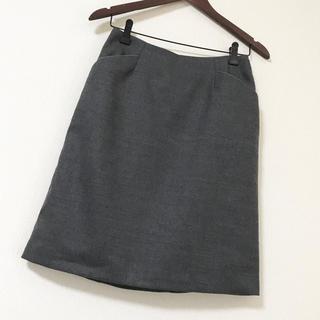 デミルクスビームス(Demi-Luxe BEAMS)の【新品タグ付き】BEAMS ウール スカート(ひざ丈スカート)