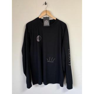 シップス(SHIPS)のHERESY  LS カットソー / ロンT ブラック(Tシャツ/カットソー(七分/長袖))