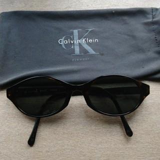 カルバンクライン(Calvin Klein)の【売り切り希望】Calvin Klein レディースサングラス(サングラス/メガネ)