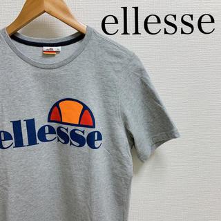 エレッセ(ellesse)のellesse エレッセ Tシャツ 旧タグ デカロゴ ロゴ柄 メンズ M(Tシャツ/カットソー(半袖/袖なし))