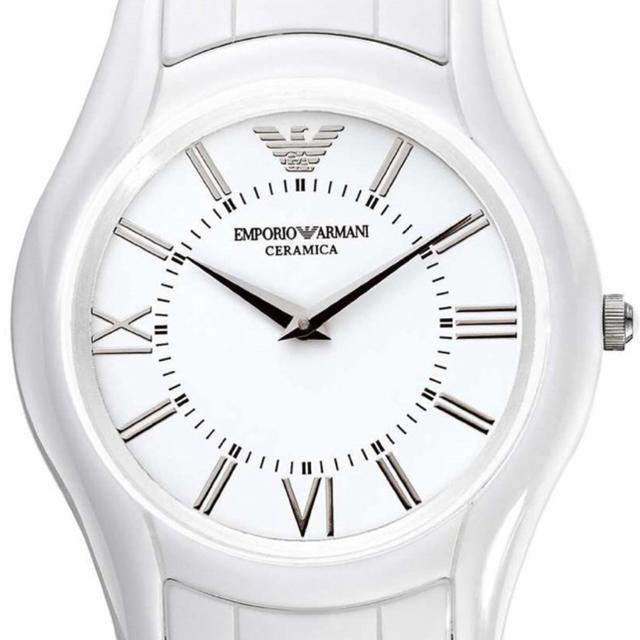 Emporio Armani - エンポリオアルマーニ  腕時計 レディース 白 セラミックの通販 by taka's shop|エンポリオアルマーニならラクマ