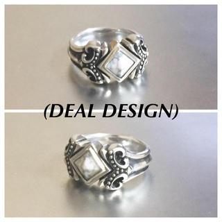 ディールデザイン(DEAL DESIGN)の🔴 ディールデザイン クイーンスタッズリング925silver(リング(指輪))