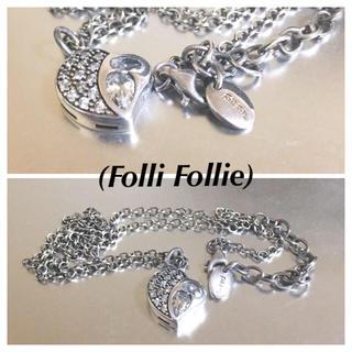 フォリフォリ(Folli Follie)の🔴 フォリフォリ 925silverハートモチーフネックレス(ネックレス)