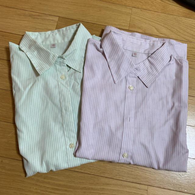 XL ワイシャツ レディースのトップス(シャツ/ブラウス(長袖/七分))の商品写真