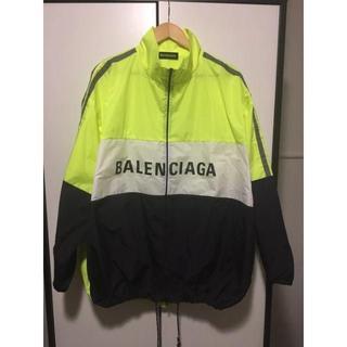バレンシアガ(Balenciaga)の確実正規 BALENCIAGA ジャケット 38 希少サイズ ビックシルエット(ナイロンジャケット)