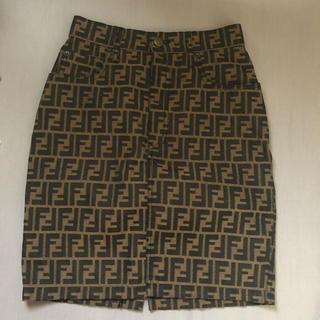 フェンディ(FENDI)のFENDI スカート ズッカ(ひざ丈スカート)