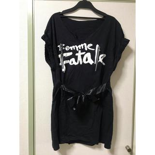 ベリーブレイン(Verybrain)のdaughter カンナビス Tシャツ ワンピース(Tシャツ/カットソー(半袖/袖なし))