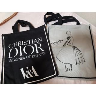 クリスチャンディオール(Christian Dior)の2枚セット【Dior展覧会】ロンドン限定 トートバッグ(トートバッグ)