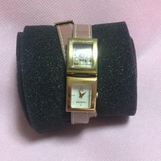 ミキモト(MIKIMOTO)のMIKIMOTO 腕時計 パール2連(腕時計)