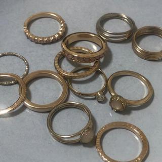 フォーエバートゥエンティーワン(FOREVER 21)の値下げ 美品 sサイズ リングセット(リング(指輪))