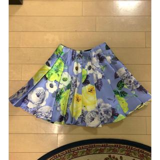 アリスアンドオリビア(Alice+Olivia)の新品 フレアスカート (ミニスカート)