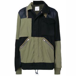 サカイ(sacai)のSACAI 18aw ジャケット サカイ サイズ2(ミリタリージャケット)