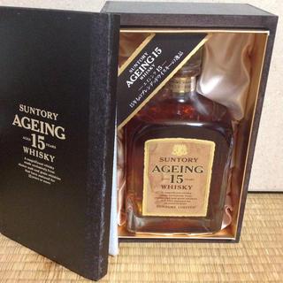 サントリー(サントリー)のこんにちは様 専用 サントリー AGING 15年 特級 新品未開封(ウイスキー)