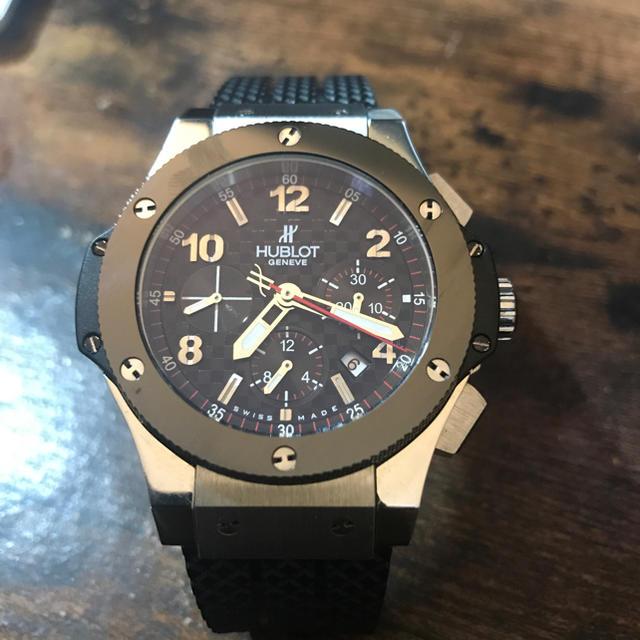 スーパーコピー エルメス 時計売る 、 HUBLOT - HUBLOT 腕時計 中古 (自動巻) の通販 by ぷはだ's shop