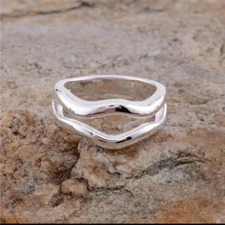 アメリヴィンテージ(Ameri VINTAGE)のtear drop ring silver925 シルバーリング(リング(指輪))