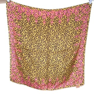 ヴィヴィアンウエストウッド(Vivienne Westwood)の新品☆ヴィヴィアンウエストウッド☆ヒョウ柄オーブ柄☆スカーフ(バンダナ/スカーフ)