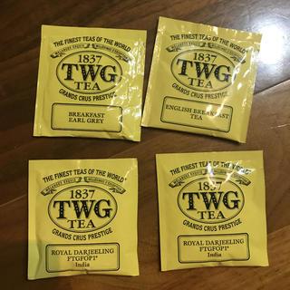 TWG 紅茶パック  3種 4袋(茶)