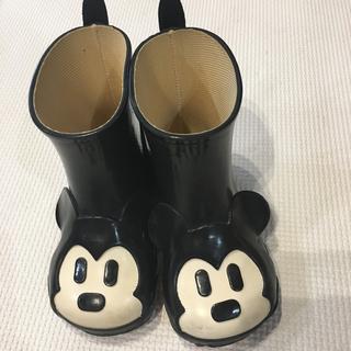 ダイアナ(DIANA)のダイアナ DIANA  ミッキー子供用レインブーツ 15cm(長靴/レインシューズ)