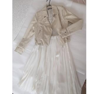 ココディール(COCO DEAL)のプリーツスカート ジャケット セット(セット/コーデ)