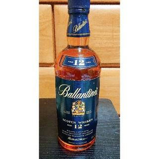 バランタインカシミヤ(BALLANTYNE CASHMERE)のバランタイン12年 丸ボトル 古酒(ウイスキー)