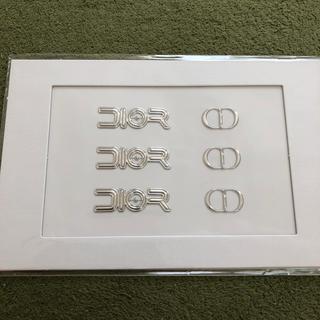 ディオール(Dior)のメンズノンノ 付録 ディオール プレフォール ロゴステッカー(しおり/ステッカー)