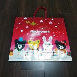ミキハウス(mikihouse)のミキハウス クリスマス 紙袋(ショップ袋)