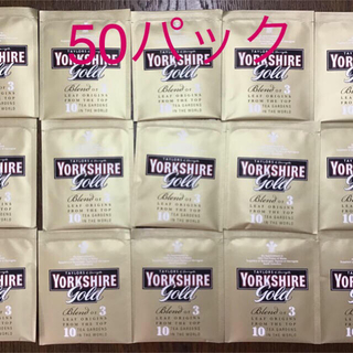 ヨークシャーティーゴールド  ティーバッグ 50パック(茶)