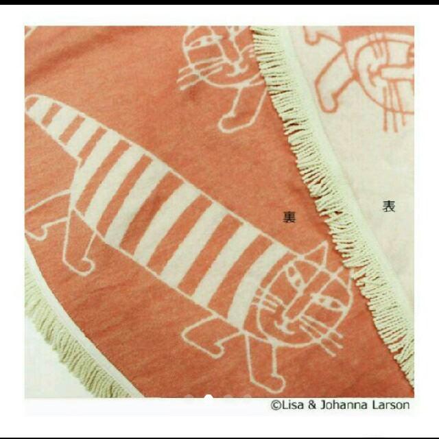 Lisa Larson(リサラーソン)の新品・未使用 ラウンドブランケット マイキー キッズ/ベビー/マタニティのこども用ファッション小物(おくるみ/ブランケット)の商品写真