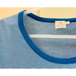 サンスペル(SUNSPEL)の美品!SUNSPEL ボーダーTシャツ(Tシャツ(半袖/袖なし))