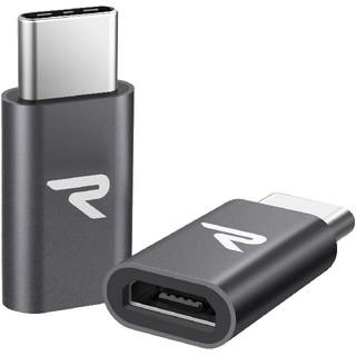 【ちゅん様専用】【Rampow】 Micro USB →USB Type-C(PC周辺機器)