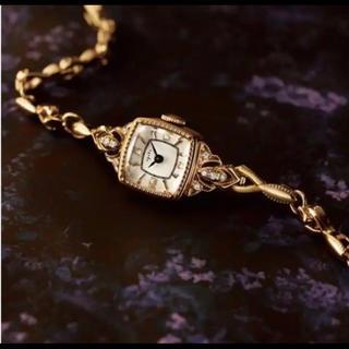 アガット(agete)のお取り置き らむちゃん様専用アガット2018ダイヤモンドジュエリーウォッチ(腕時計)
