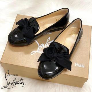 クリスチャンルブタン(Christian Louboutin)の1100 クリスチャンルブタン リボン オペラシューズ(ローファー/革靴)