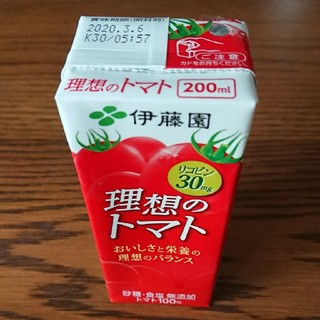 イトウエン(伊藤園)の理想のトマト 200ml 30本(ソフトドリンク)