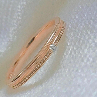 k10シンプルダイヤみるうちリング5号(リング(指輪))