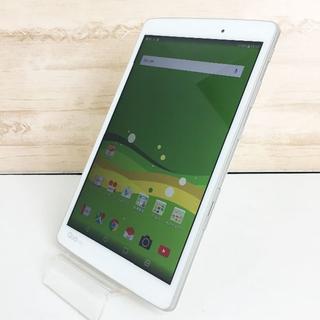 エルジーエレクトロニクス(LG Electronics)のほぼ未使用☆LG Qua tab PX au ホワイト(タブレット)