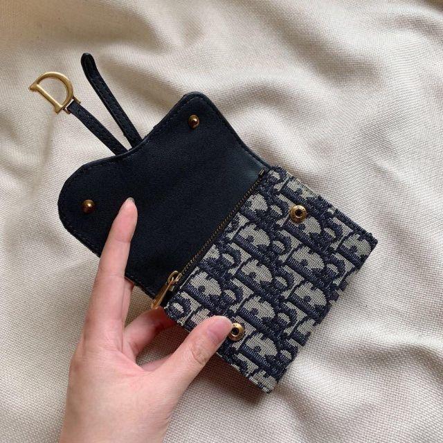 Dior - クリスチャン・ディオール(Christian Dior) 折り財布【正規品】の通販 by 駿の神's shop|ディオールならラクマ