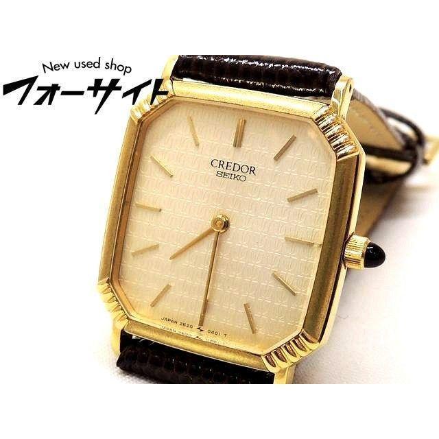 SEIKO - セイコー クレドール☆2620-5250 18K クォーツ メンズ 時計の通販 by FORESIGHT's shop|セイコーならラクマ
