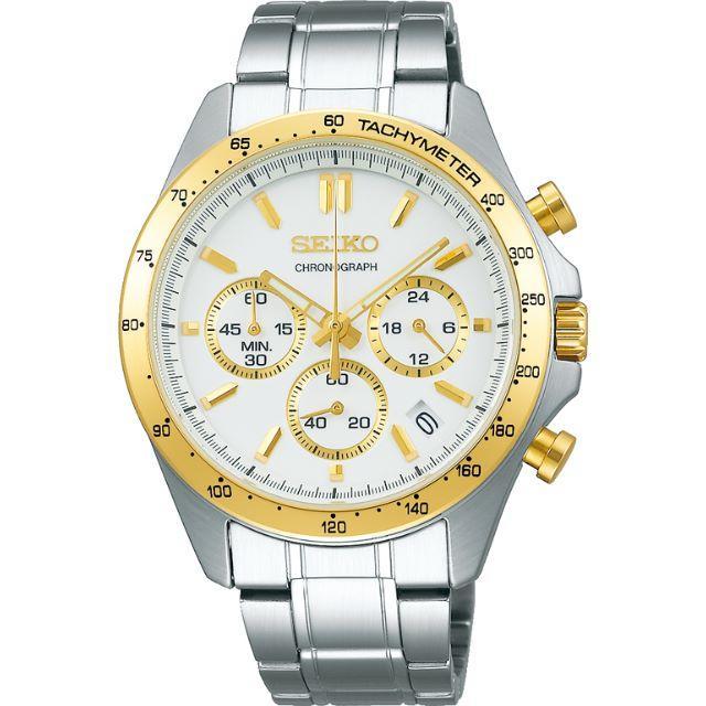 ブルガリ激安時計コピー | SEIKO - 特価 正規品 限定品 SEIKO クロノグラフ ホワイトxゴールドの通販 by 9/16まで発送不可 HOKUTOSEI|セイコーならラクマ