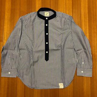 メゾンドリーファー(Maison de Reefur)の美品!MAISON DE REEFUR ノーカラーシャツ キッズ サイズ110(ブラウス)